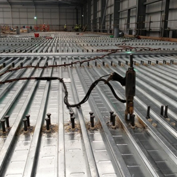 Shear Stud Welding To Metal Decking Swuk Steel Supply